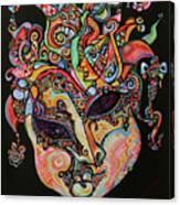 Magic Mask Canvas Print