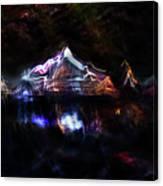 Magic Mountain Lake Canvas Print