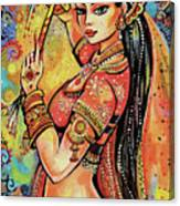 Magic Of Dance Canvas Print