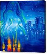Magic Of The Night Canvas Print