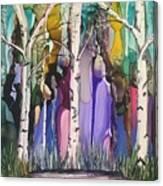 Magical Birch Canvas Print