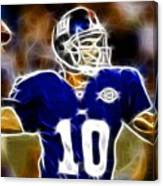 Magical Eli Manning Canvas Print