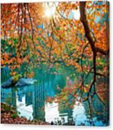 Magical Fall Canvas Print