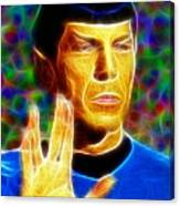 Magical Mr. Spock Canvas Print