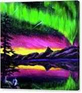 Magical Night Meditation Canvas Print