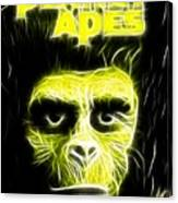 Magical Planet Of The Apes Canvas Print