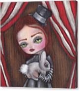 Magician Girl Canvas Print