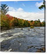 Magnetawan River In Fall Canvas Print