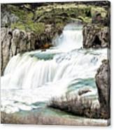Magnificence Of Shoshone Falls Canvas Print