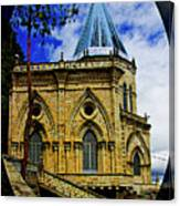 Magnificent Church Of Biblian Canvas Print