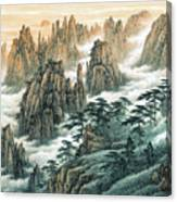Magnificent Mount Huangshan Canvas Print
