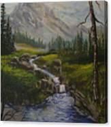 Magnificent Rockies Canvas Print