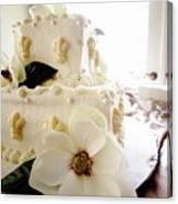 Magnolia Cake Three Canvas Print