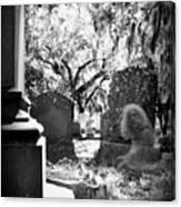 Magnolia Cemetery 75 Canvas Print