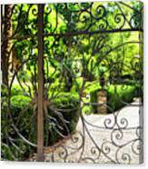 Magnolia Gate Canvas Print