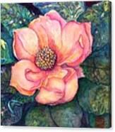 Magnolia In The Evening Canvas Print