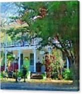 Magnolia Inn Canvas Print