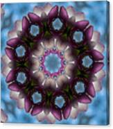 Magnolia Mandala Canvas Print