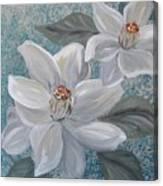 Magnolia Melody Canvas Print