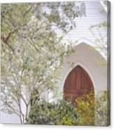 Magnolia Springs Church Canvas Print