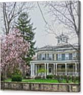 Magnolia Time Canvas Print