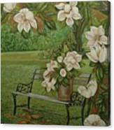 Magnolia Tree Canvas Print