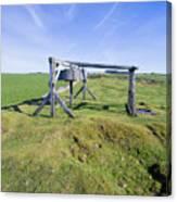 Magpie Mine, Mine, Lead Mine, Derbyshire, Peak District, Mining, Canvas Print