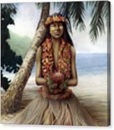 Mahalo Canvas Print