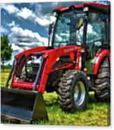 Mahindra Tractor Canvas Print