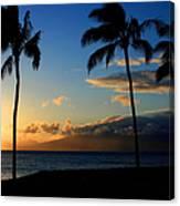 Mai Ka Aina Mai Ke Kai Kaanapali Maui Hawaii Canvas Print