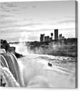 Maid In The Mist Canvas Print