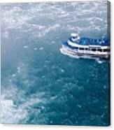 Maid Of The Mist American Side  Canvas Print