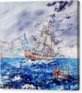 Maiden Voyage Canvas Print