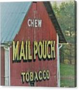 Mail Pouch Special Canvas Print