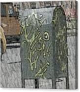 Mailbox Harlem Canvas Print