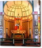 Main Altar Sacre Couer  Canvas Print