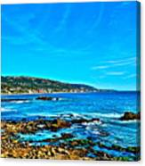Main Beach Laguna Canvas Print