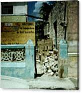 Main Street Bonaire Canvas Print
