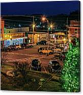 Main Street Christmas Canvas Print