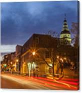 Main Street In Annapolis Canvas Print