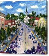 Main Street Canvas Print