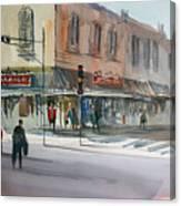 Main Street Marketplace - Waupaca Canvas Print