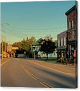 Main Street - Old Forge New York Canvas Print