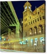 Main Street Station-vertical Canvas Print