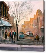 Main Street - Steven's Point Canvas Print