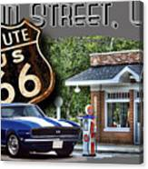 Main Street, Usa Camaro Canvas Print