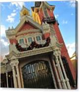 Main Street Usa Fire Department Canvas Print