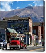 Main Town Street Canvas Print