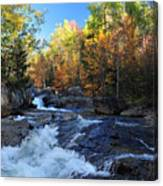 maine 38 Baxter State Park South Branch Stream Canvas Print