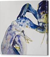 Maine Blue Lobster Canvas Print